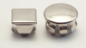 spring steel tube cap
