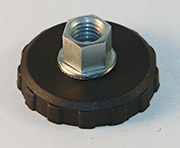poly base fixed socket leveler